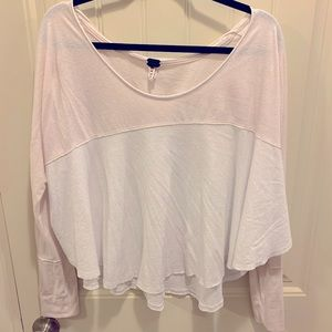 Free People We The Free Long Sleeve Shirt, Sz M